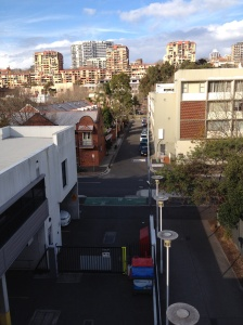 Was sleeping in my car right up the end of that street. Wilson St Woolomooloo.